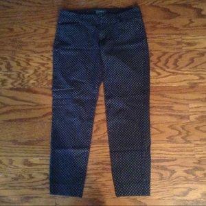 Navy Printed Pixie Pants